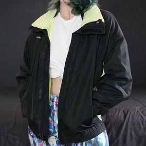 Vintage Neon Statement Columbia Jacket